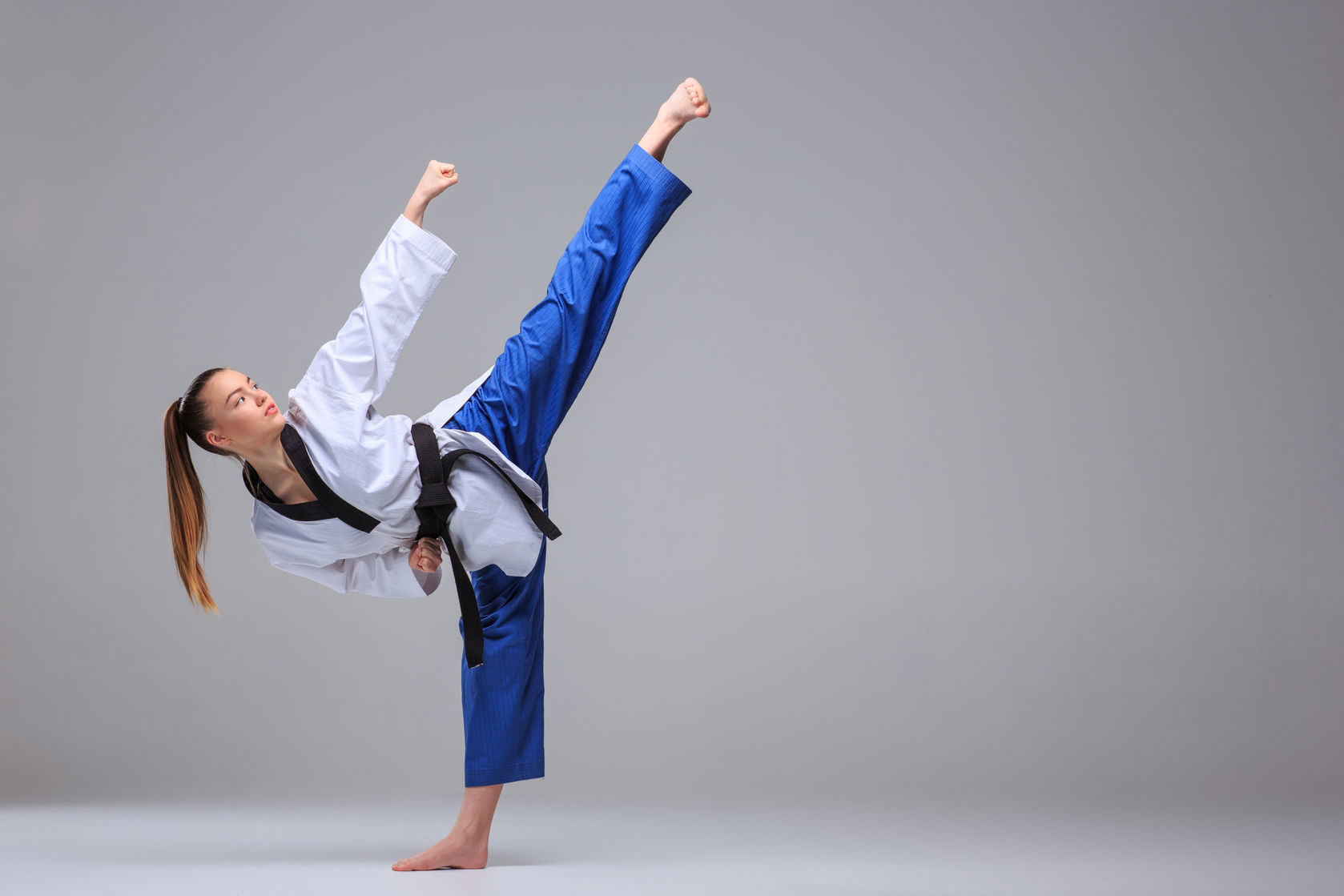 Poomsae (forms) high sidekick