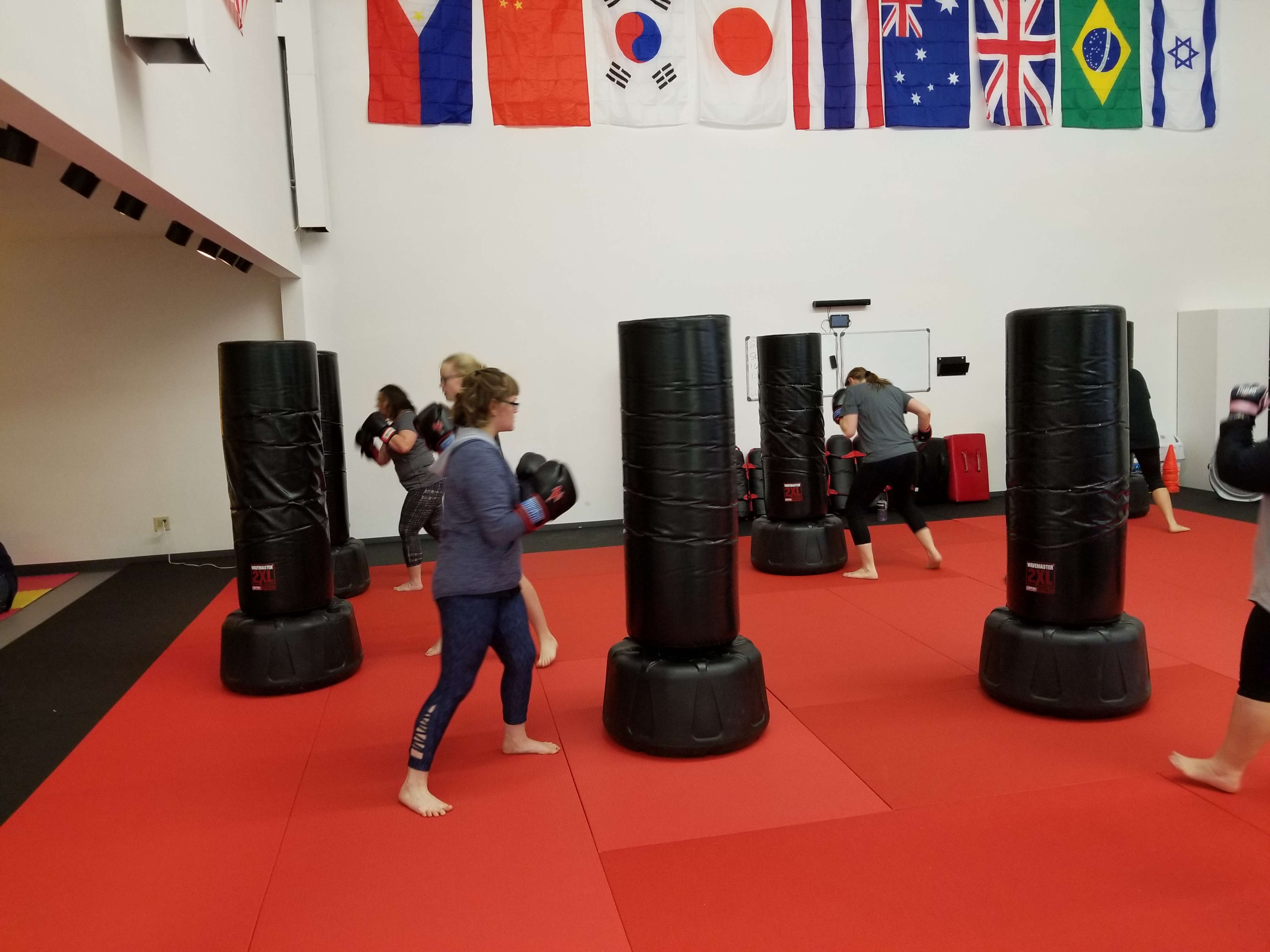 Empower Boxing class