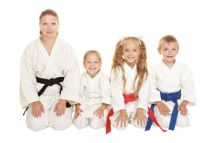 family of color belts