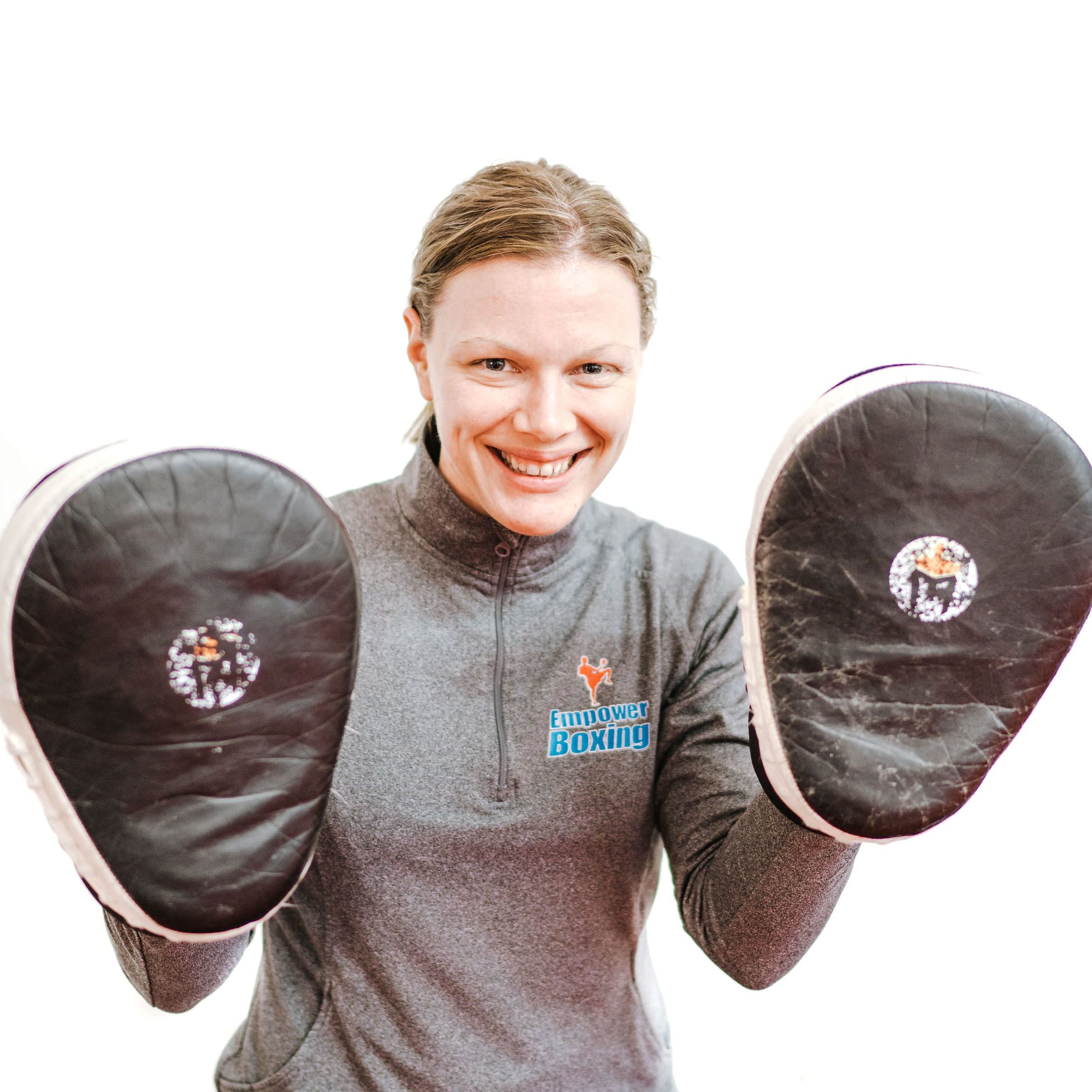 head instructor empower boxing and co-owner enriching confidence Dani Waltzing