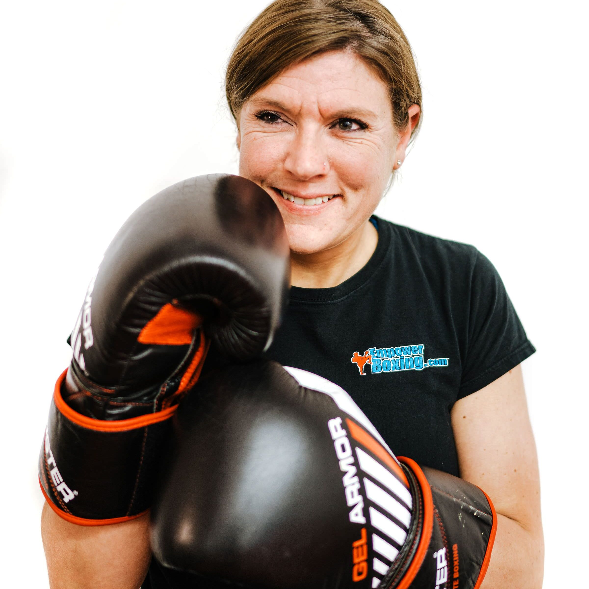 instructor empower boxing, personal trainer and program director enriching condifence Kayla Flynn