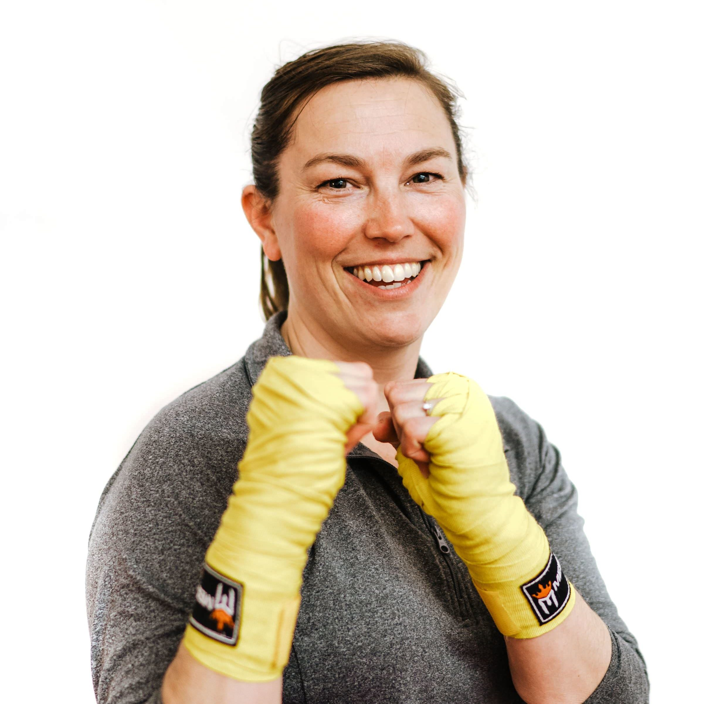 instructor empower boxing and yoga Rachael Sinning
